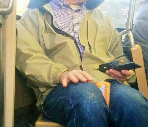 Vigilante Cell Phone Jammer on Chicago Public Transport System