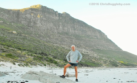 Early Bird Looking For That Worm On Sandy Bay Beach At Llandudno, Cape Town