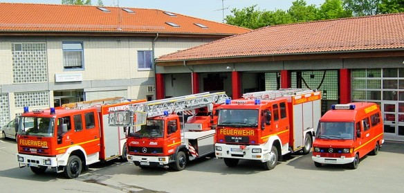 German Firefighters - Ready For The Next Emergency