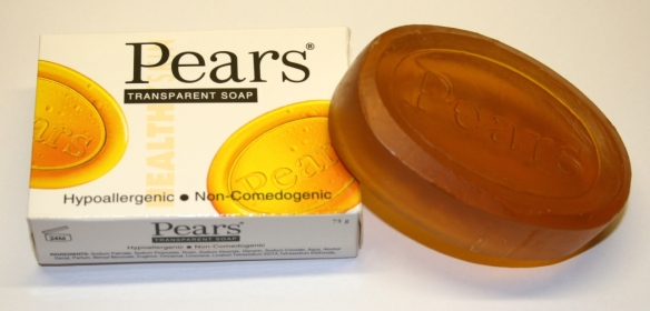 Original Hypo-allergenic Pears Soap and Box