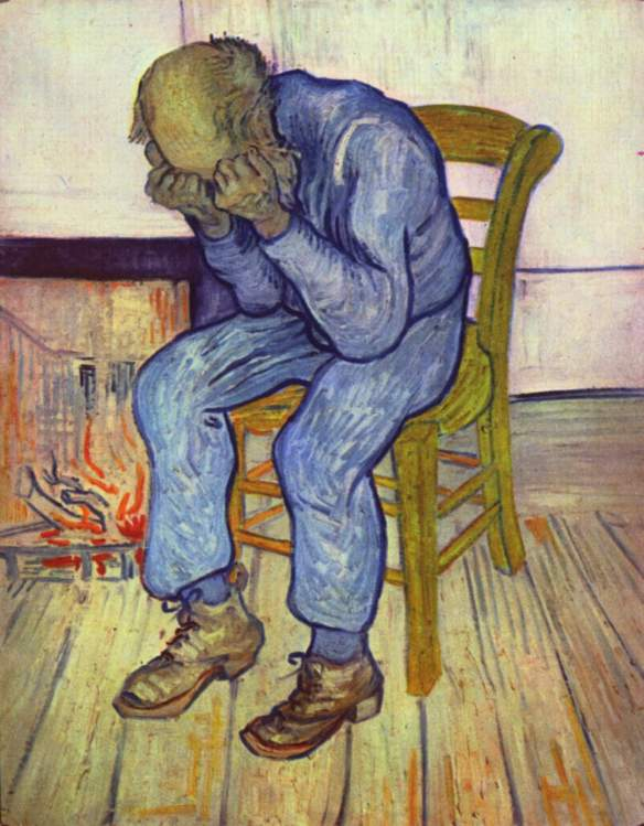 Depression as portrayed by Vincent van Gogh