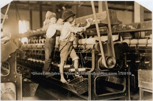 Mill Workers In Macon - Prized For Their Agility (Especially When The Machines Are Moving)