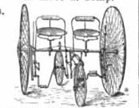 The 1880s 'Sociable' - Germany's First Convertible Two Seater