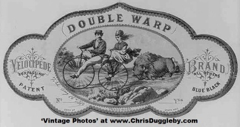Long Before The Starship Enterprise Travellers Could Experience Double Warp Speed by Smoking This Stuff When Riding The Newly Developed Bikes With Rubber Tyres in 1861
