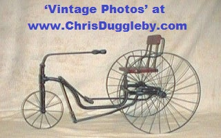 If You Prefer Your Little Wheel 'Up front' Try this Tricycle from 1880