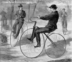 In 1868 Gentlemen Could Be Found In The Parks Parading On Their Bikes
