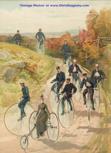 A Country Bike Ride in 1887