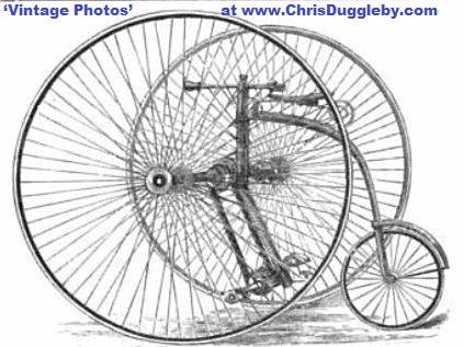 The Humber Tricycle drawn in 1887