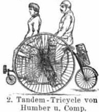 The Humber Tandem Tricycle
