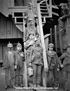 Young Boys Unscrupulously Exploited and Abused By Management At Woodward Coal Mines, Kingston, Pa - c1900