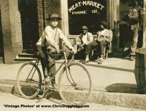 11 year old Meat Market delivery boy in Opelika Alabama 1914