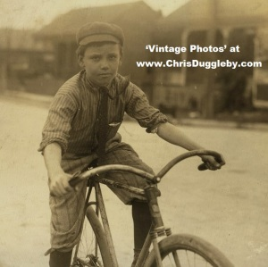 11 yr old Percy Neville, a Red Light district regular messenger (In the proud possession of a quarter tip from one of the whores) in Shreveport 1913