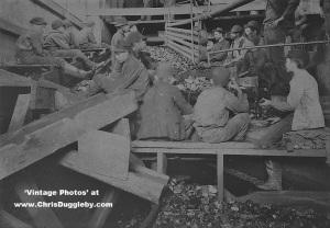 Kohinor Mine Coal Breaker Boys, Shenandoah City, PA 1891