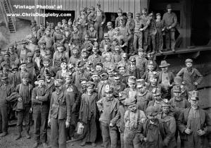 Woodward Coal Breaker Boys, Kingston, PA c1895
