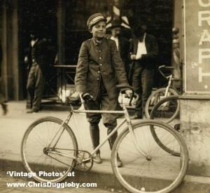 1910 Postal Telegraph Messenger Boy, Birmingham, Alabama
