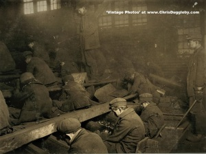 Young Boys Having Their Lungs Poisoned at the Pennsylvania Coal Co Breaker 1911