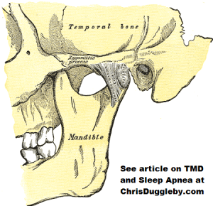 The Location of Temporo Mandibular Joint Disorder TMD
