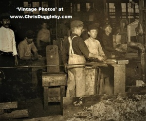 Young Boy at Cumberland Glass Works, Bridgeton, N.J. 1909