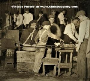 Boy at Work in a Bridgeton N.J. Glass Works 1909