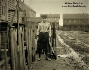 Pittston PA Coal Breaker Tom Vitol - nearly 14 Years Old 1911