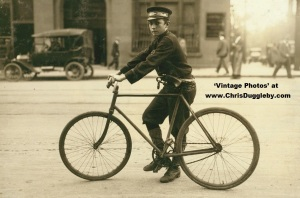 Well presented messenger boy in Birmingham, Alabama - 1914
