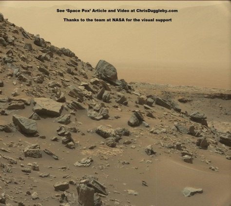 Although we have started to look for microbes on Mars we have only scratched the surface so far