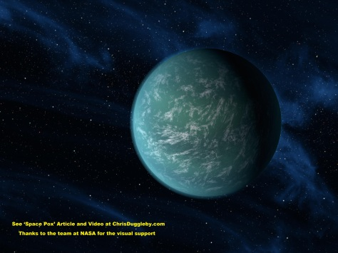Kepler 22B was the first planet to be found in its suns habitable zone