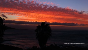 Sunset view from Valiumm 3 studio, Llandudno, Cape Town
