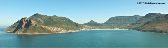 Hout Bay near Cape Town, South Africa (We like to think of this as the back side of Llanduno)