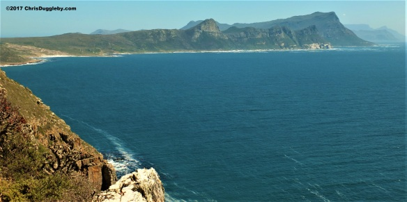 View of False Bay from near the new Cape Point light house