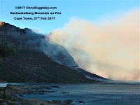 1 Hout Bay Fires At Karbonkelberg See Photo Blog Article Sensational Images of Blazing Cape Town Mountain at ChrisDugglebydotcom