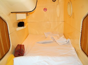 Pod Hotel Decor Ladies shop Till You Drop Husband Parking Pod Article at ChrisDugglebydotcom