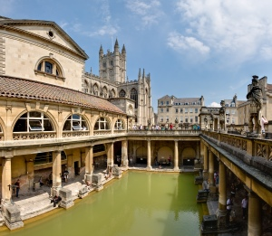 Traditional English Bath see Legal Battle of Pensioner Who Massaged Bottom Over Public Hot Tub Jet at Baths from ChrisDugglebydotcom